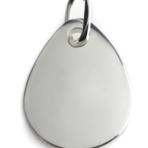 PURE BLOOD DROP silver  pendant