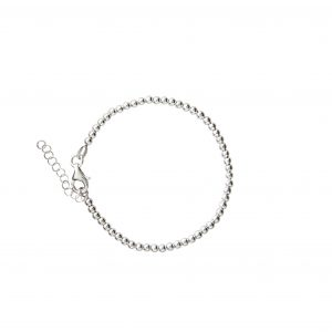 BLOOD TYPE SILVER BRACELET